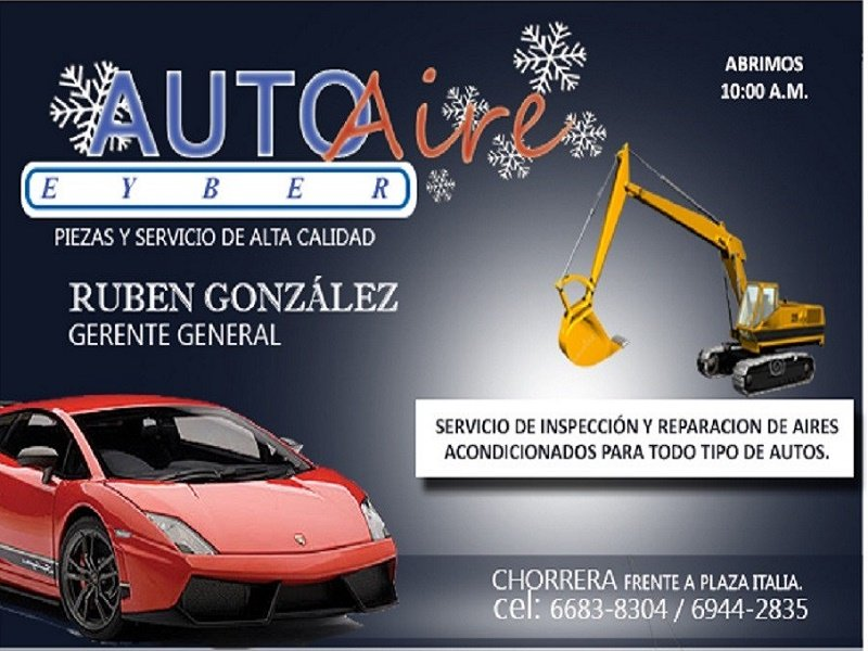 AUTO AIRE EYBER