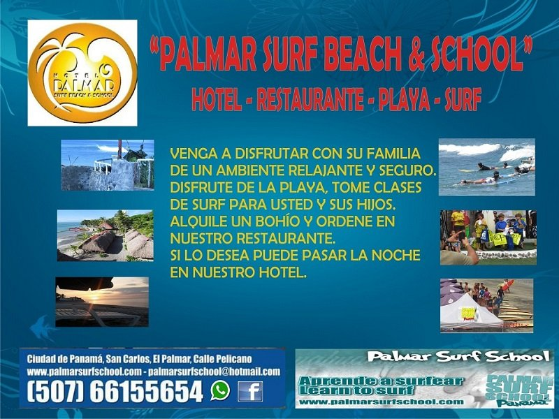 PALMAR SURF BEACH & SCHOOL)