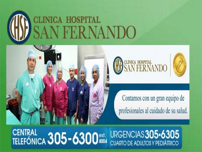 CLINICA HOSPITAL SAN FERNANDO